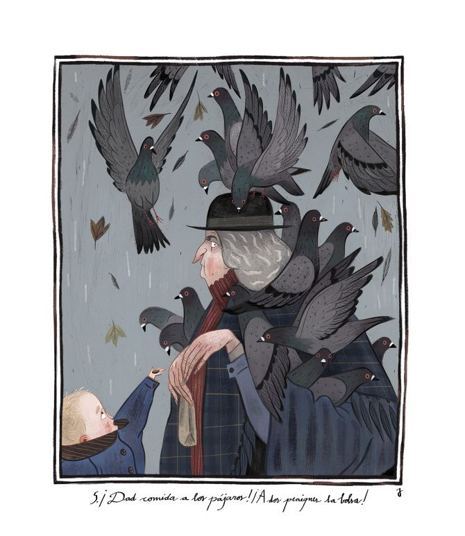 Mary Poppins Illustrations by Júlia Sardà