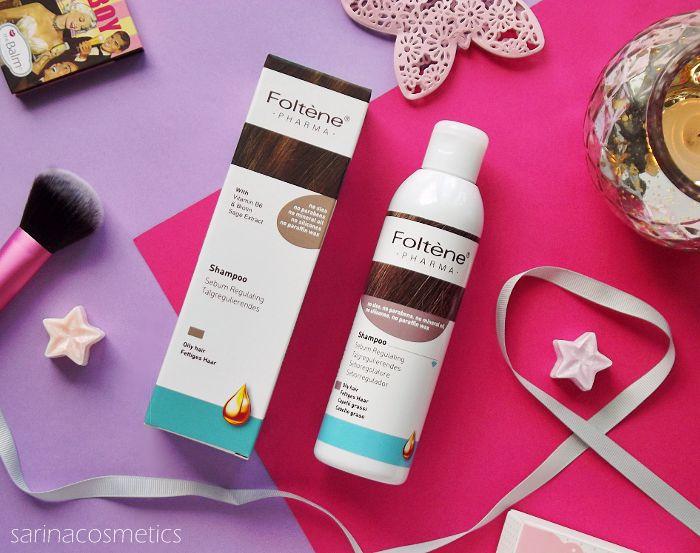 sarinacosmetics: Przeciwłojotokowy szampon do włosów tłustych Folte...