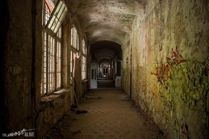 The Abandoned Hospital of Beelitz