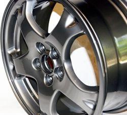 Black Chrome Xtreme Powder Coating Rims  http://www.columbiacoatings.com/store/p/1054-Black-Chrome-Xtreme.aspx  #Rims #chrome #custom #cars #wheels #Rim