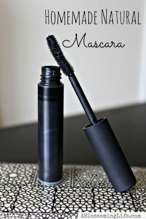 Home Made Natural Mascara