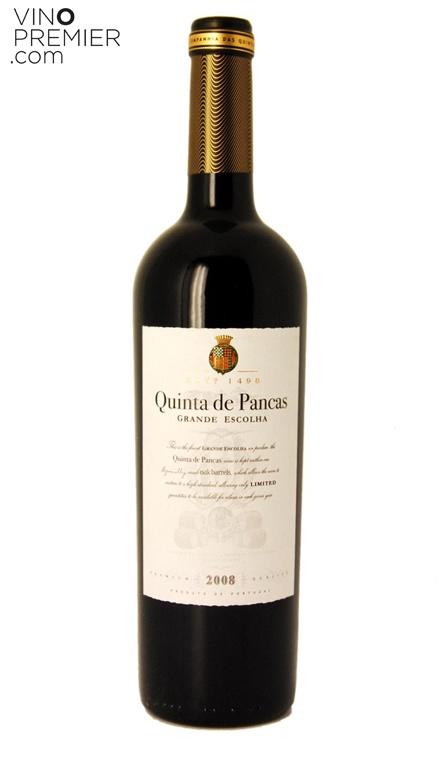 VINO TINTO PORTUGUES QUINTA DE PANCAS GRANDE ESCOLHA 2008  Vinos de Portugal - Vinos Portugueses   41.80€