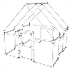 Free pvc projects plans pvc playhouse playhouses and for Pvc playhouse kit