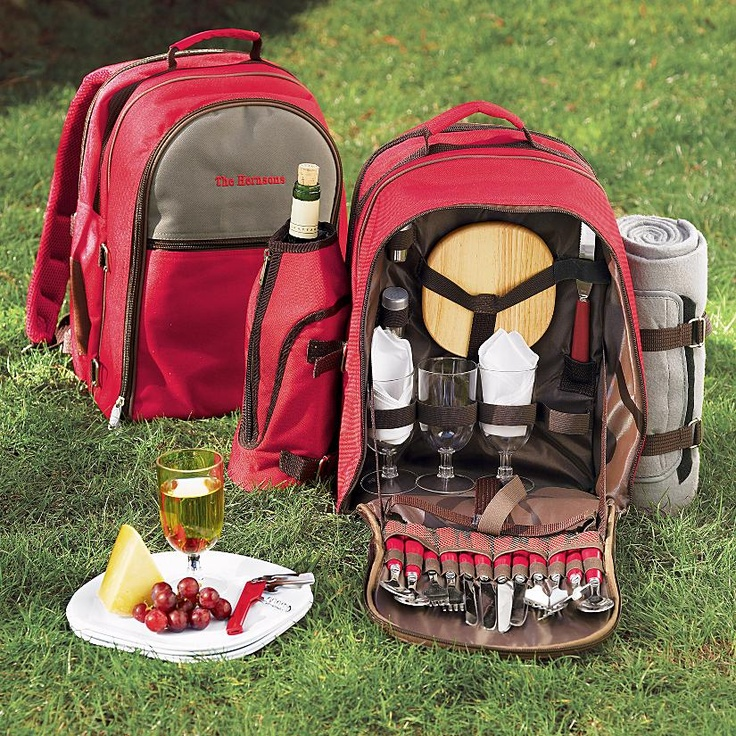picnic backpack! This would be so much fun with the kids!  Found at redenvelope.com for $75