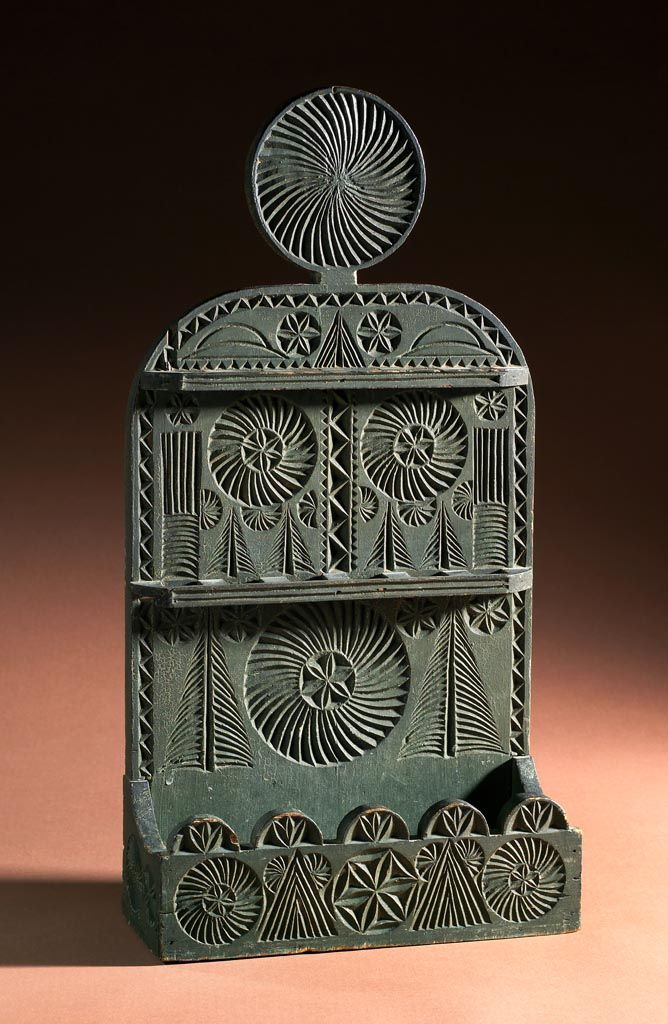 Chip carved spoon rack in green off the wall pinterest