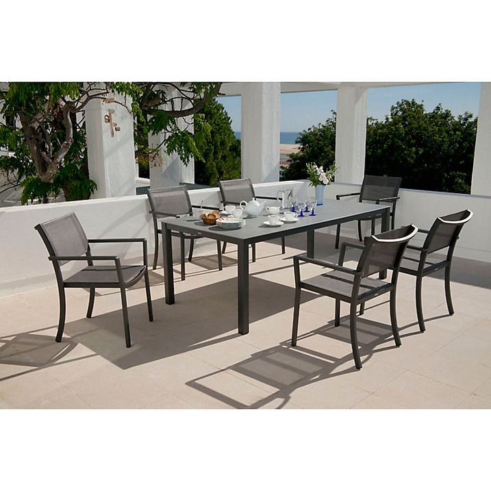 Barlow Tyrie Cayman 8 Seater Garden Dining Table  Graphite   Storm55 best Outdoor dining images on Pinterest   Outdoor dining  Teak  . Kettler Bretagne 8 Seater Outdoor Dining Table. Home Design Ideas