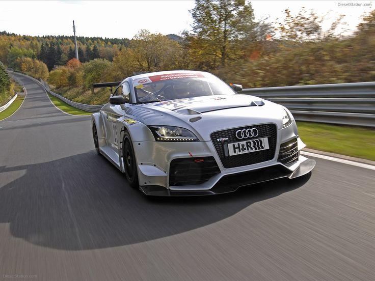 Audi TT RS 2012 - Racing Car Version Exotic Car Pictures #06 of 18 : Diesel Station