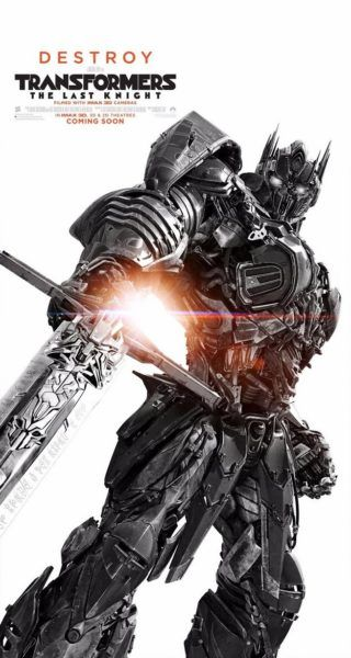 New Posters From Transformers: The Last Knight
