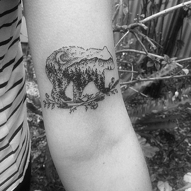 手机壳定制black running shoes for kids Wolf amp Wren Tattoo Collective Bear Mountains Moon Tattoo by ad_mthom_s on kate___butler