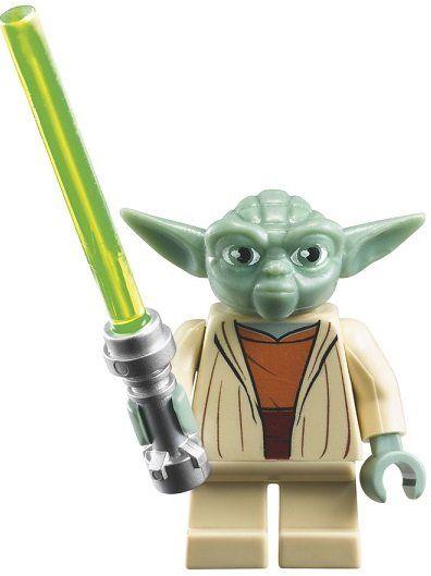 LEGO Yoda Minifigur