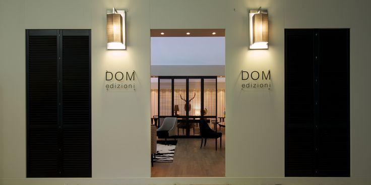 DOM EDIZIONI: Salone del Mobile Milano entry - #domedizioni #luxuryliving #salonemilano #cosmit #mobile #luxury