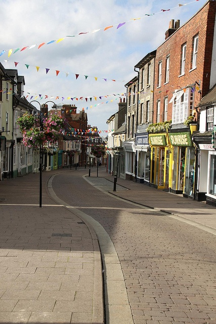 Bury St Edmunds 2010 by Dave Catchpole, via Flickr  *I walked through town many a times.