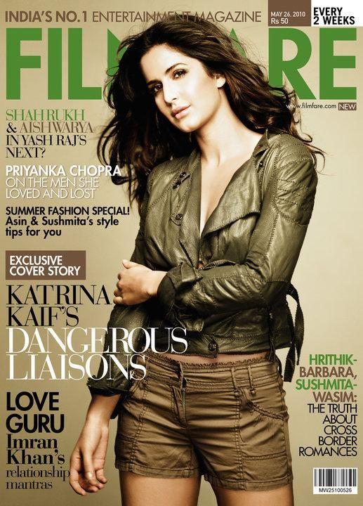 Katrina Kaif on the cover Of Filmfare. | PINKVILLA