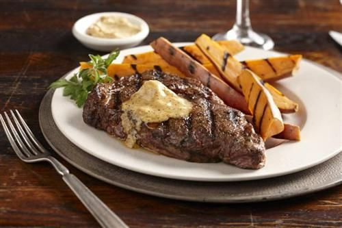 Entrecote Steak and Mustard Butter, Spice Islands