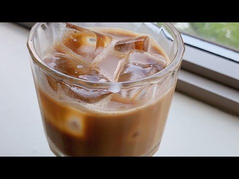 Iced Coffee At Home Only 3 Ingredients Without Any Machine How To Make Easy Iced Coffee Youtube In 2020 Iced Coffee At Home Diy Iced Coffee Iced Coffee