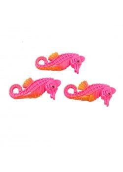 Uxcell 3-PIECE Plastic Fish Tank Artificial Seahorses, PinkMade from plastic material, these manmade seahorse are for aquarium decoration. Vivid making can add a color to your fish tank. No harm to your fish.Features of Uxcell 3-PIECE Plastic Fish Tank Artificial Seahorses, PinkProduct Name: Aquarium OrnamentMain Color: PinkSize: 5.5 x 2 x 1.2cm/2.2