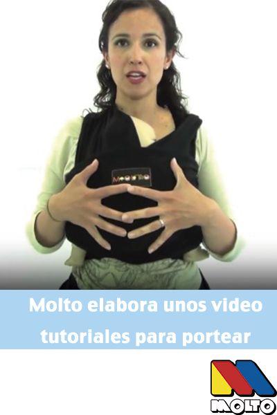 Porteo - Iniciación al porteo con Molto y Elena de Monitos y risas