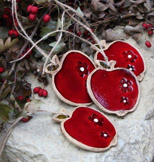 Červené jablíčko