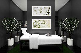 Massage room design