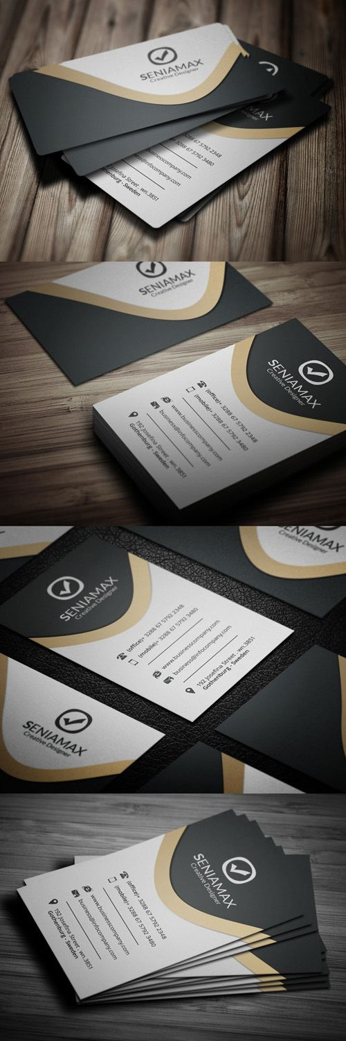 Creative Business Company Card #businesscards #businesscardsdesign