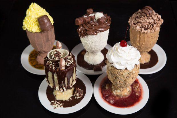 Resultado de imagem para taça decorada de sorvete