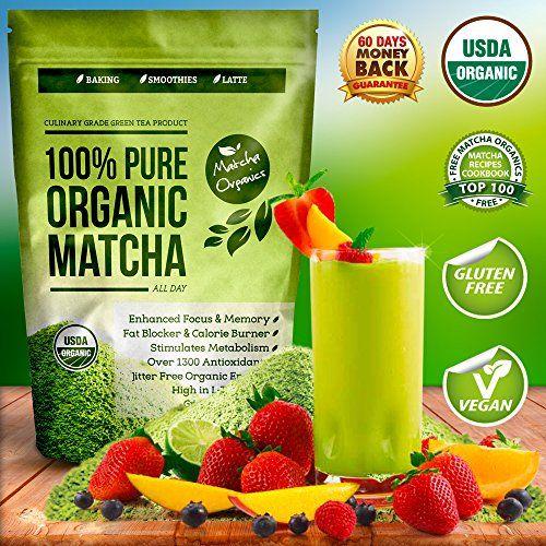 Pure Organic Matcha Green Tea Powder http://www.amazon.com/Organic-Matcha-Green-Powder-Extract/dp/B00OJMI0CK/ref=sr_1_39?ie=UTF8&qid=1421707352&sr=8-39&keywords=matcha