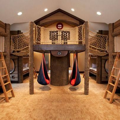 Multiple children, awesome room!!