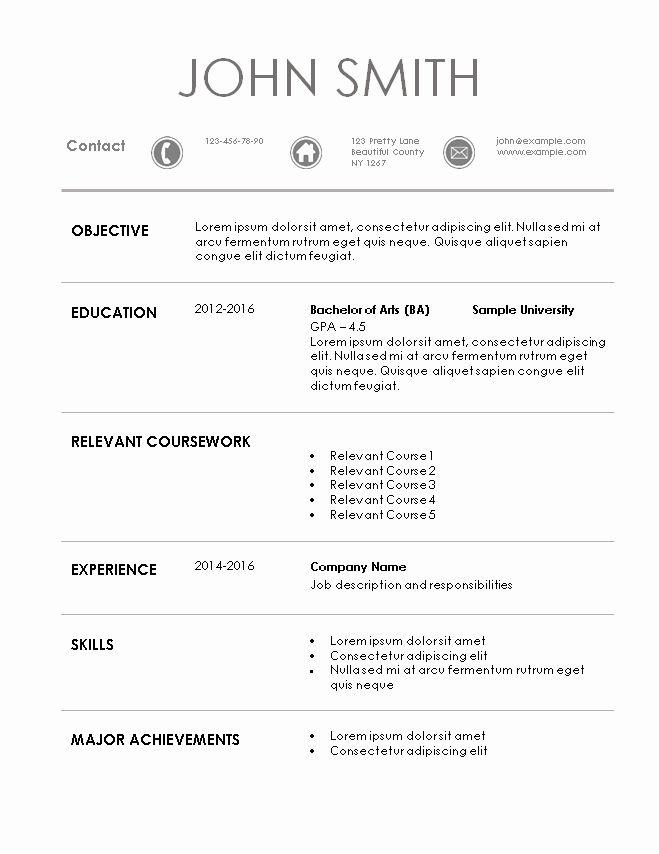 101 Coupon 3-Resume Templates Sample resume, Resume, Resume