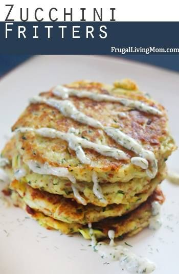 These Zucchini Fritters are so good.. My girls LOVED them.