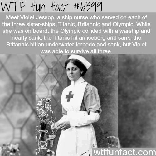 Violet Jessop - WTF fun facts