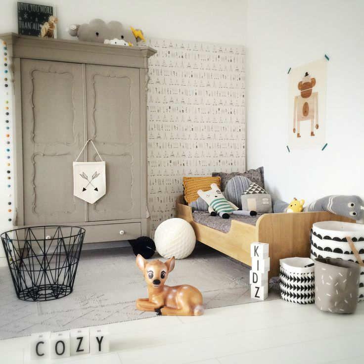 Elegant Grey Room | 10 Lovely Little Boys Rooms Part 5 - Tinyme Blog