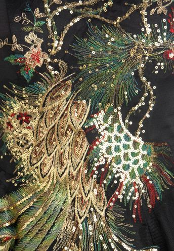 embroidery peacock design, embroidery, hand sewing, hand embroidery, textiles