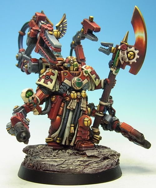 40k - Pre-Heresy Thousand Sons Tech Marine