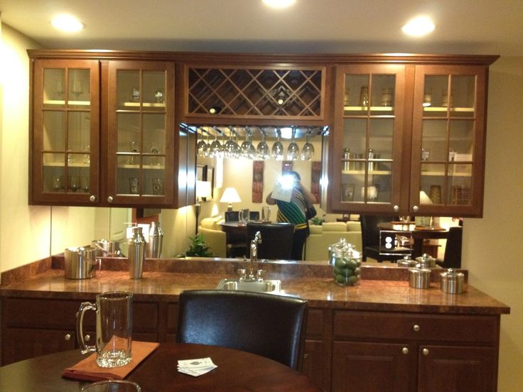 17 best images about small basement wet bar ideas on pinterest home theater projectors wet - Home wet bar ideas ...