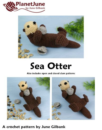 Amigurumi Otter Pattern : 1000+ images about Crafts on Pinterest Perler beads ...