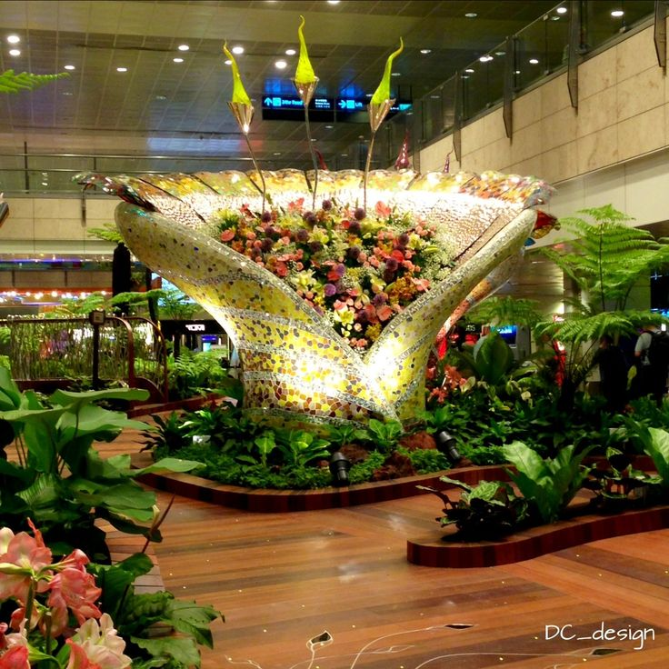 Pin by Dian Christiani on Everywhere.. Changi airport