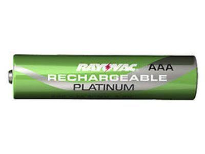 AAA Rayovac Platinum Pre-Charged NiMH Battery (750 mAh)