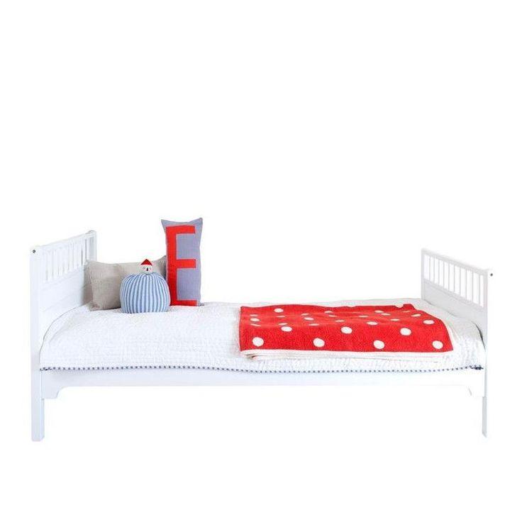 Oliver Furniture <br/> Einzelbett Seaside <br/> Weiss 90 x 200 cm,Einzelbetten, Oliver Furniture - SNOWFLAKE kindermöbel concept store