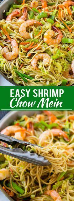Shrimp Chow Mein Recipe | One Pot Meal Shrimp Chow Mein | Best Shrimp Chow Mein | Easy Shrimp Chow Mein | One Pot Meal Chow Mein | Chow Mein Recipe