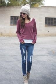 Sweatshirt style #falltrends #FanFinds #Marshalls