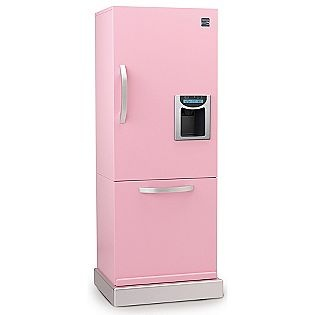 My First Kenmore Wooden Refrigerator Pink 99 99 Kmart
