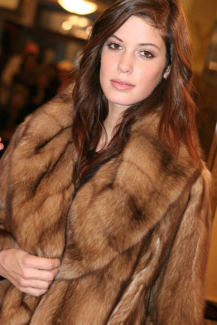 sable fur fashion show
