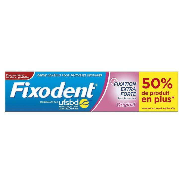 Fixodent Crème Adhésive Fixative Original pour Prothèse Dentaire 70 g: Amazon.fr: Hygiène et Soins du corps