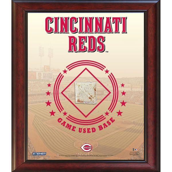 Cincinnati Reds Game Used Base 11x14 Stadium Collage - $59.99