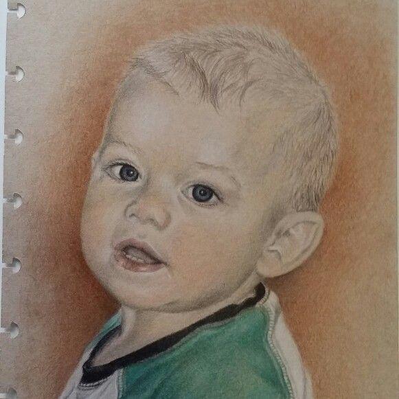 Tyson, by Teresa Heath. Colored pencil portrait. http:// m.facebook.com /pnclartst