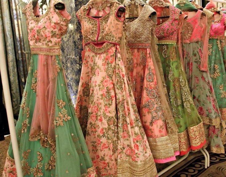 Desi couture. Indian fashion.
