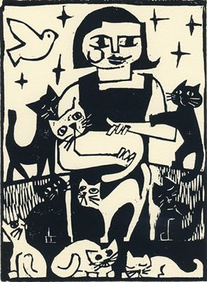 WOODCUT   ...........click here to find out more     http://googydog.com