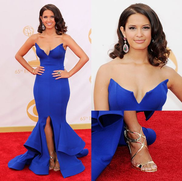 rosci diaz in micheal cosello | ... Best Dressed: Rocsi Diaz In Michael Costello | I Hate My Publicist