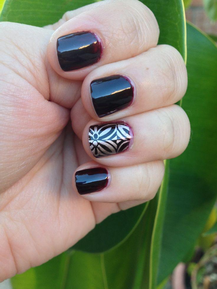 Essie Wicked+ Essie Penny Talk nail accent
