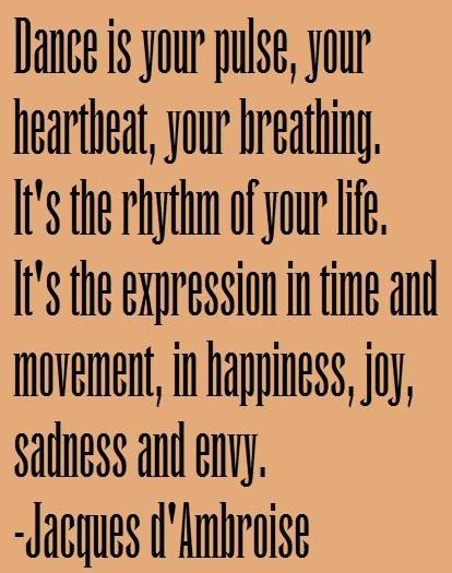 Dance is....